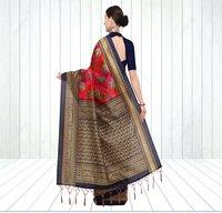 Indian Mysore Silk Saree