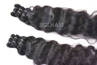 Indian Temple Machine Weft Deep Wavy Hair