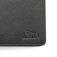 Black Short Leather Wallet