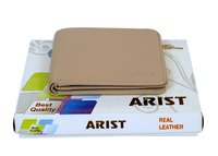 Casual plain Leather Wallet