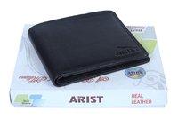 Black Leather Soft Wallet