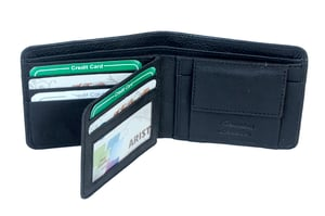 Short Casual Mens  Leather Wallet