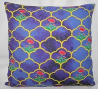Flower Printed Cushion Cover