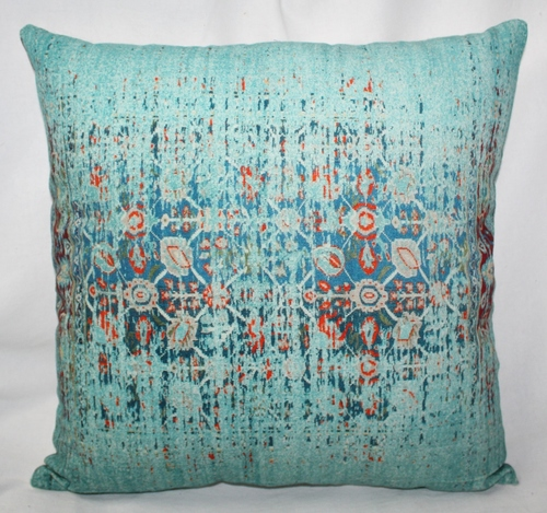 Stone Wash Printed Cushion Cover