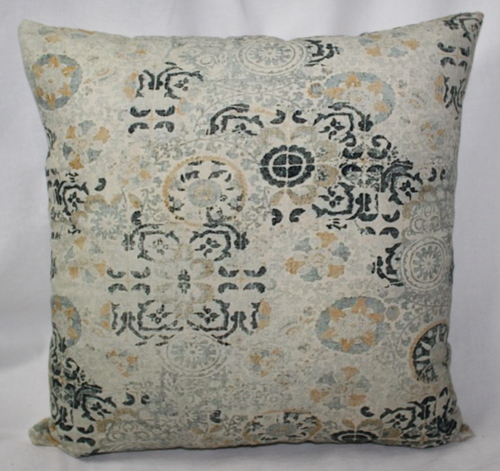 Multicolor Flower Printed Cushion Cover