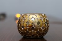Mosaic hand made votive