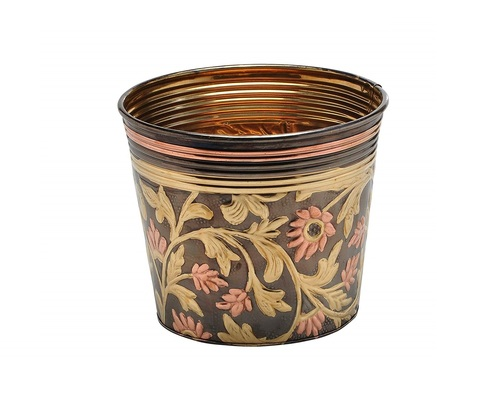 Designer Brass Decorative Planter