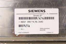 SIEMENS 6ES7 390-1AE80-0AA0