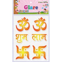Craft Villa Glare OM Printed Sticker