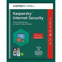 Kaspersky Internet Security 2018 1 Pc 1 Year