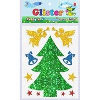 Craft Villa Glister Christmas Tree Glitter Sticker