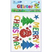 Craft Villa Glister Merry Christmas Glitter Sticker