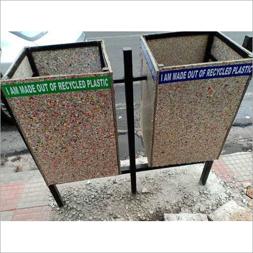 Recycled Plastic Sheet Dustbin