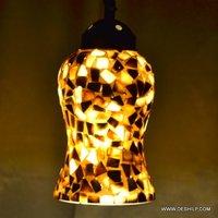 BEAUTIFUL HANDCRAFTED GLASS SEAP WALL LAMP
