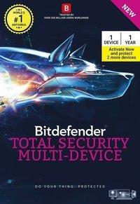 Bitdefender Total Security Multi Device Software