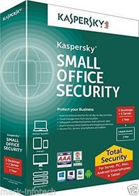 Kaspersky Small Office Security For 5 PC ( 5 User ) 1 File