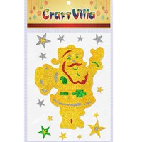 Craft Villa A3 X-MAS Glitter Foam Sticker