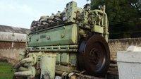 Sulzer 6AL20H Marine Engine