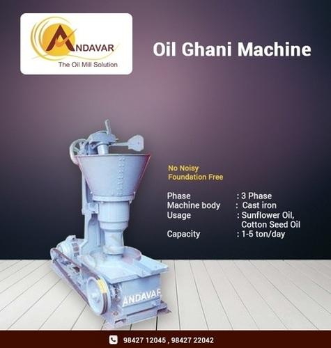 Kachi Ghani Machine
