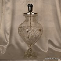 CUTTING GLASS CRYSTAL TABLE LAMP