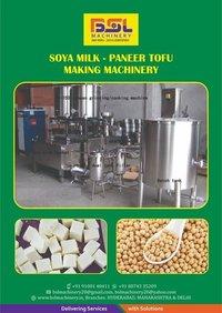 soya milk paneer