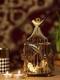 Bird Cage Style Tea Light Holder