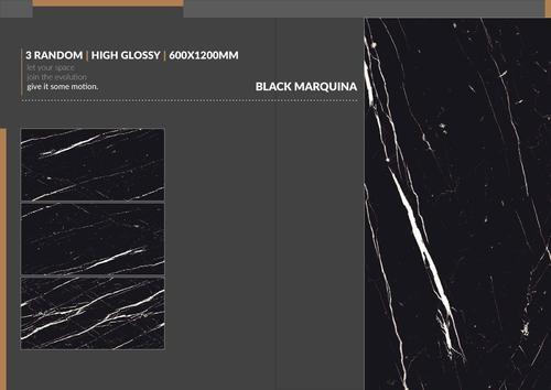 Black Glazed Vitrified Tiles