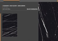 Black Glazed Vitrified Tiles
