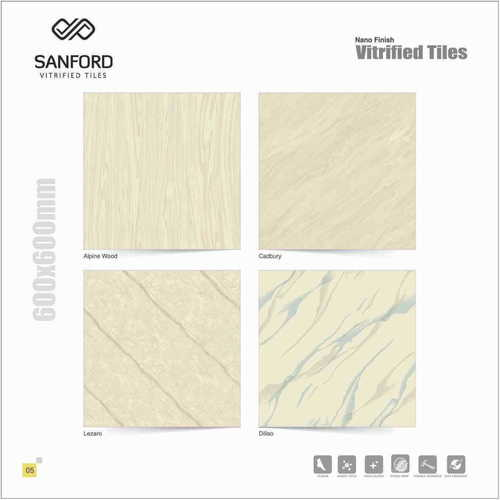 600X600 mm Soluble Salt Tiles