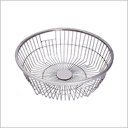 Stainless Steel Round Basket