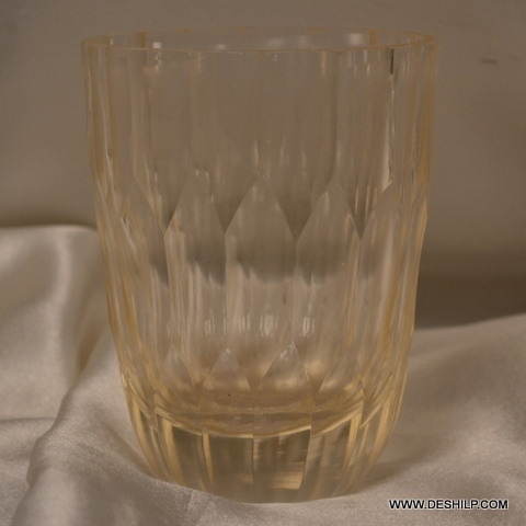 GLASS T LIGHT CANDLE HOLDER