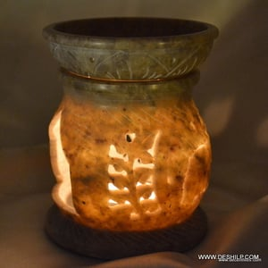 ANTIQUE AROMA CANDLE HOLDER