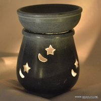 DESIGNER GLASS AROMA CANDLE OIL BURNER