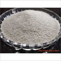 High Purity Silica Sand