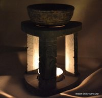 PILLAR SHAPE AROMA OIL BURNER CANDLE
