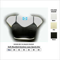 Seamless Cups Sports Bra