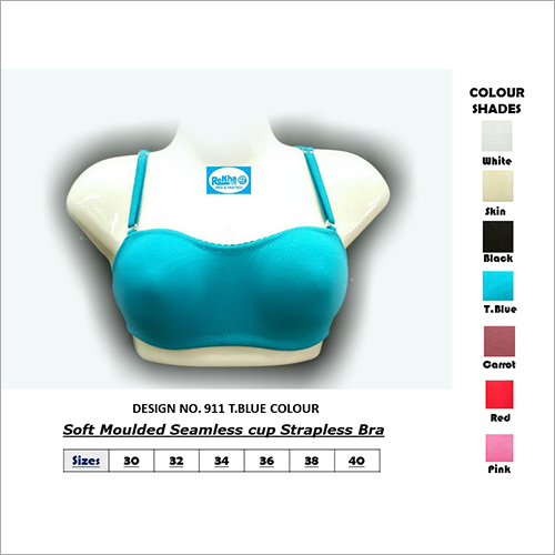 Seamless Cup Strapless Bra