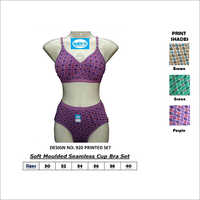 Seamless Cup Bra Set