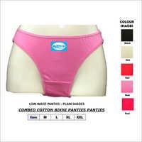 Low Waist Panties