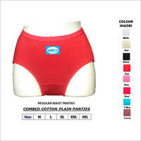 Combed Cotton Plain Panties
