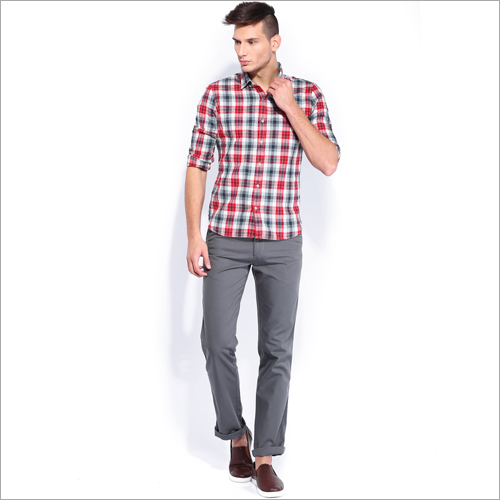 Mens Regular Fit Chinos Pant