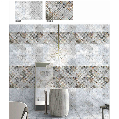 Designer Glossy Bathroom Wall Tiles