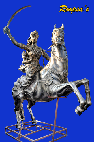 Rani Laxmi bai Horse Riding