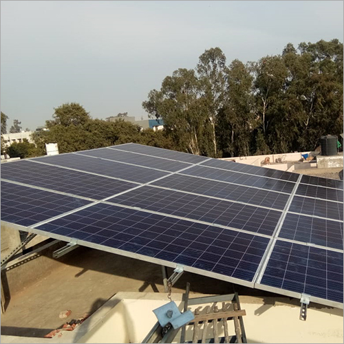 Roof Top Mounted Solar Panel
