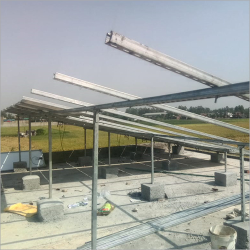 GI Solar Panel Structure
