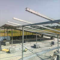 GI Solar Panel Structure