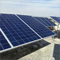 Commercial Solar Panel Plant
