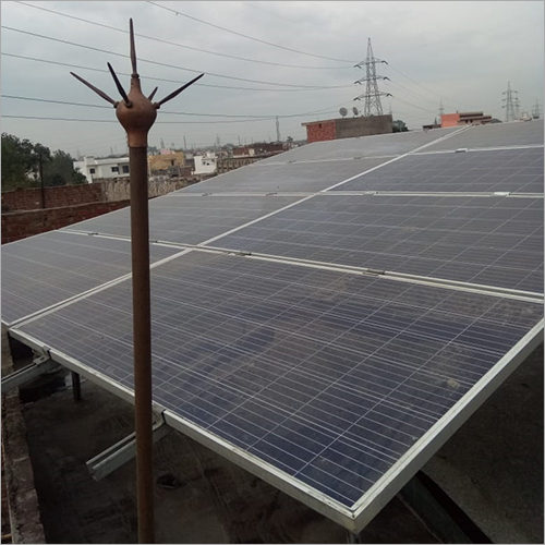 On Grid Domestic Solar Panel Plant