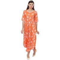 Floral Designer Long Dress