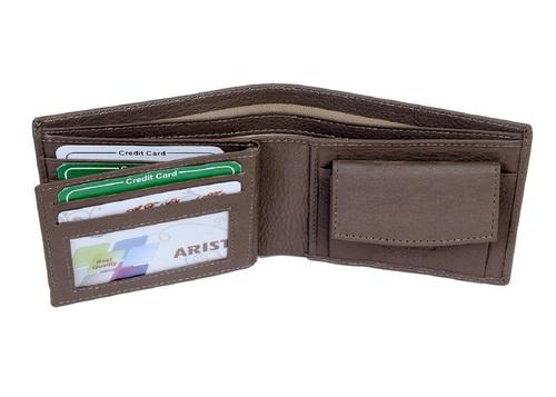 Plain Leather Wallet